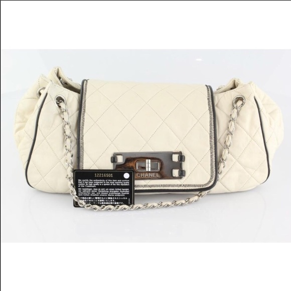 04697dbb81e CHANEL Bags   East West Accordion Flap Bag   Poshmark